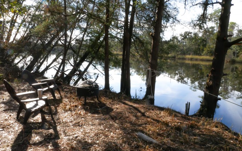 Peaceful Private Waterfront Property on Blackwater River